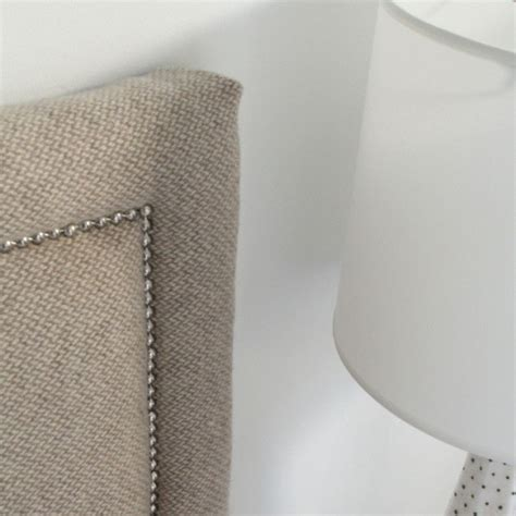 diy studded headboard 1000 ideas about diy upholstered headboard on pinterest