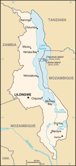 List Of Cities In Malawi Wikipedia