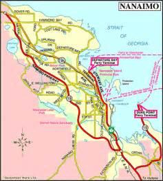 map of nanaimo vancouver island vancouver island news
