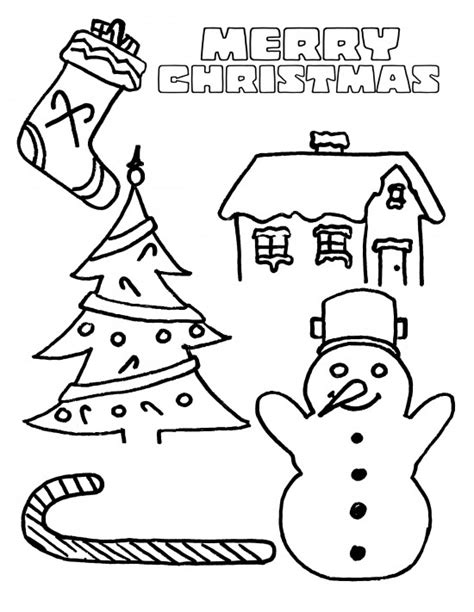 santa claus with christmas tree coloring pages coloring