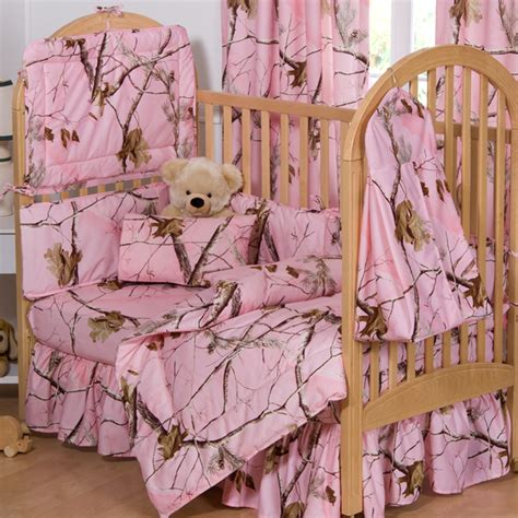 Pink Baby Crib Bedding Sets Pink Camo Bedding Realtree Ap Pink Camouflage Crib Bedding Camo Trading