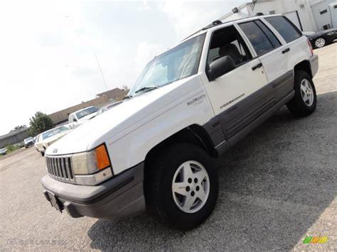 1995 white jeep grand laredo 4x4 53941245 photo 2 gtcarlot car color