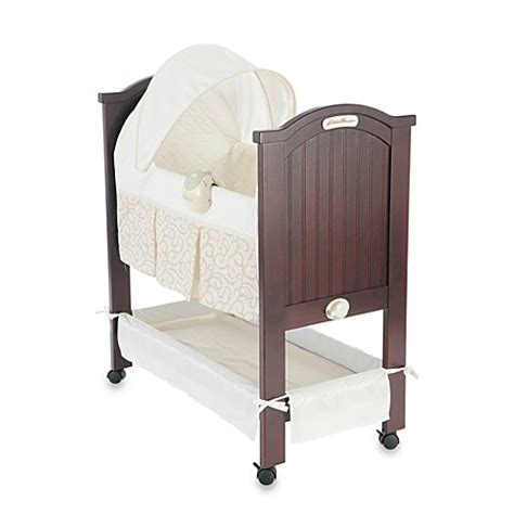 eddie bauer bassinet bedding eddie bauer newport collection wood bassinet buybuy baby