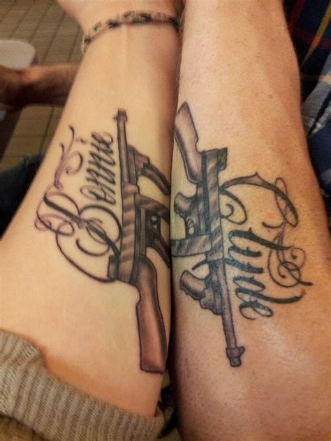 image result for bonnie clyde tattoo tattoos pinterest
