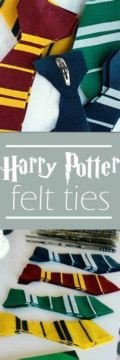 harry potter felt ties homemade quidditch trunk harry potter pinterest