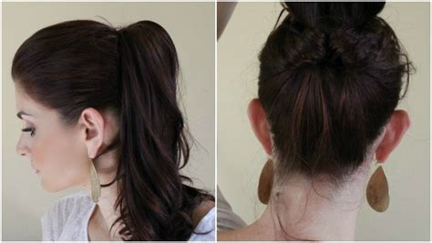 types of pony tail with a roll 21 ways to upgrade your mom ponytail ma nouvelle mode