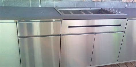 Stainless Steel Cabinets Outdoor Kitchen by Our Stainless Steel Outdoor Kitchens In Melbourne