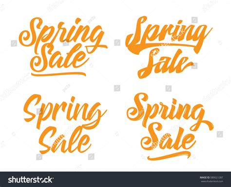 typography sles sale text typography design usable stock vector 589521287