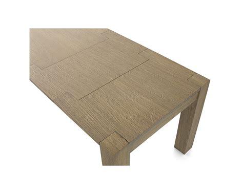 tavolo rovere allungabile tavolo moderno rovere seppia spazzolato 140x90 allungabile