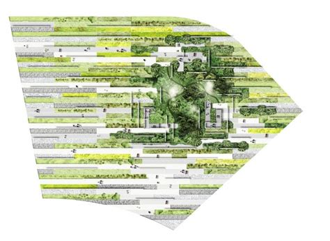 plan masse architecture pinterest atelier eem architecture paysage co hybrid