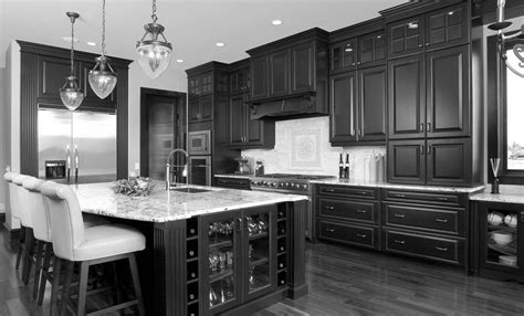 black kitchen island with wood top modern kitchen island