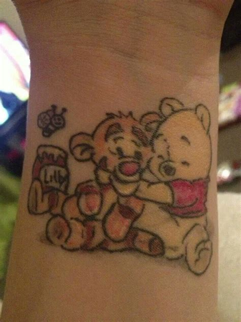 pooh bear tattoo designs winnie the pooh tigger lov it