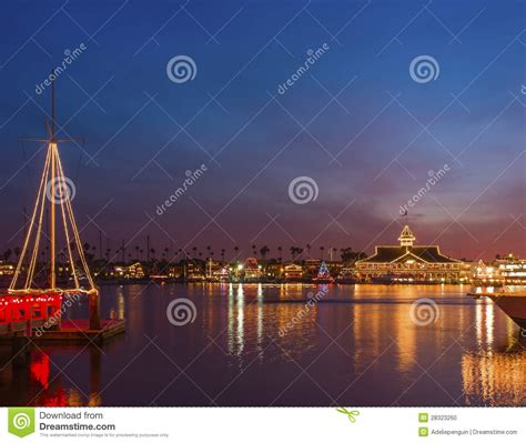California Light by Newport Bay Lights California Stock Photo