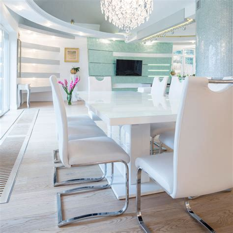 Modern White Dining Room by 43 Modern Dining Room Ideas Stylish Designs Designing Idea