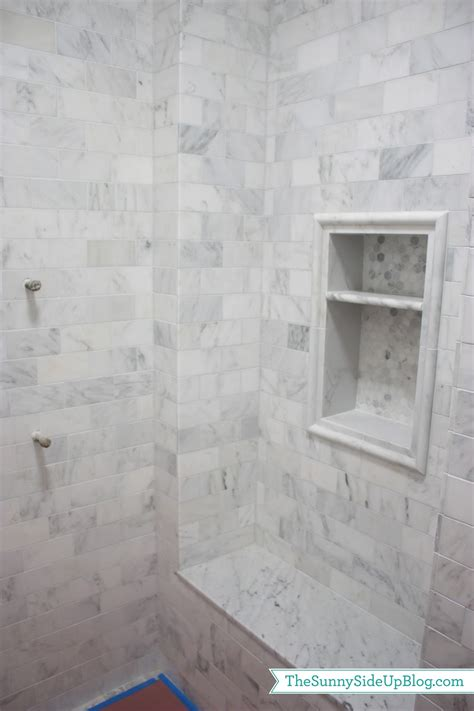 Marble Showers Bathroom Carrara Marble Dreams The Side Up