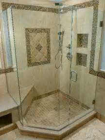 Glass Shower Doors Richmond Va Custom Neo Angle Frameless Shower Midlothian Va Virginia Shower Door Llc Richmond Va 804