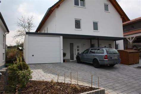anbau garage carport anbau carport an haus und garage