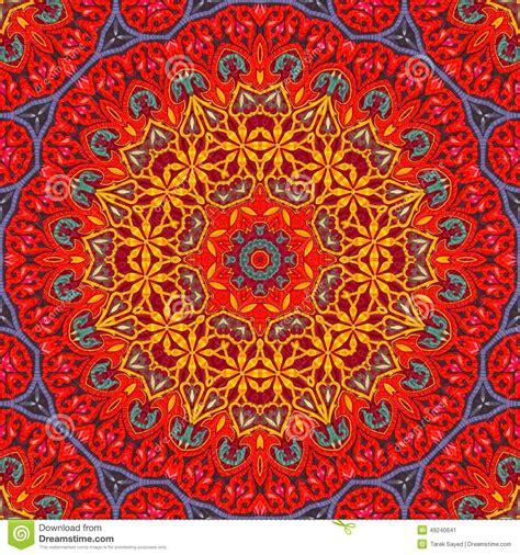 art pattern maker seamless khayameya pattern design 017 stock photo image