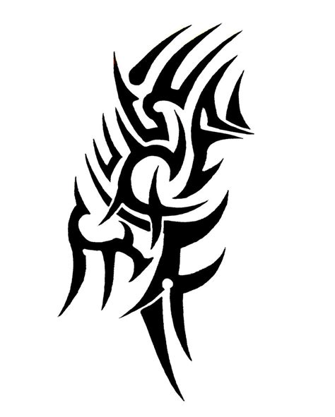 tribal tattoo j tribal by sorentalon on deviantart