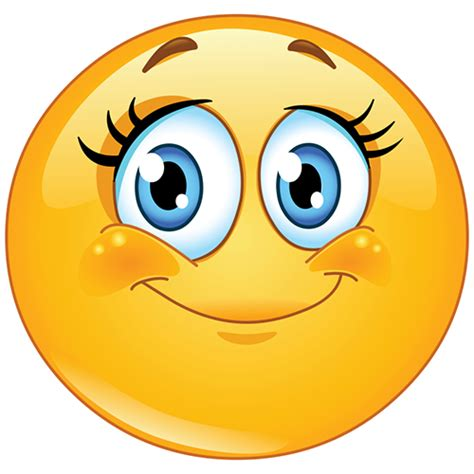Girl Smiley Face | Symbols & Emoticons Emoticons Smile