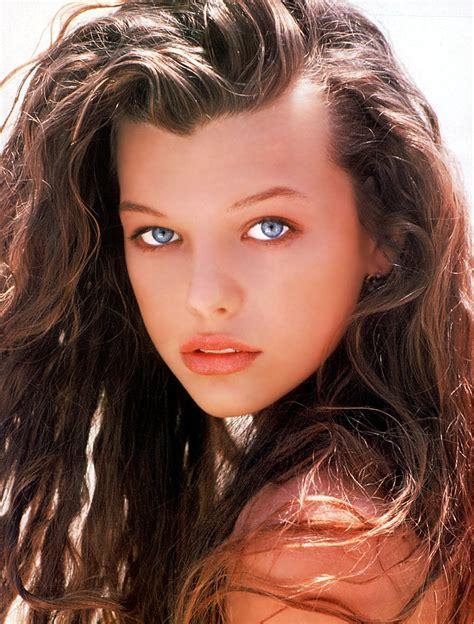 milla jovovich child model milla jovovich movies models and music