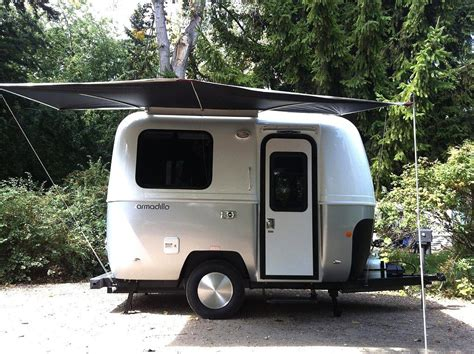 Teardrop Camper Floor Plans by Armadillo Trailer 13 Foot Stylish Camping Option Tiny