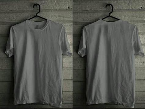 Kaos Tshirt Baju Raglan Abu Coklat 13 gambar desain kaos polos depan belakang terbaru