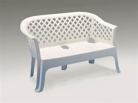plastic loveseat outdoor waterproof sofa made of plastic for outdoor use idfdesign