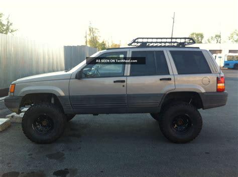 raised jeep cherokee 1998 lifted jeep grand chorokee