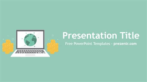 templates powerpoint money earning money online powerpoint template preview prezentr