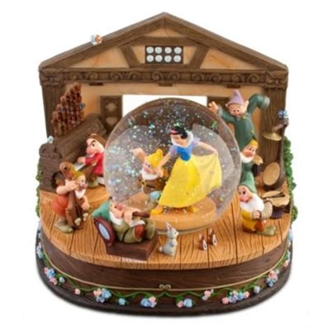 snow white snow globe disney snow globes pinterest