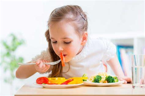 importancia de una dieta equilibrada en los ninos