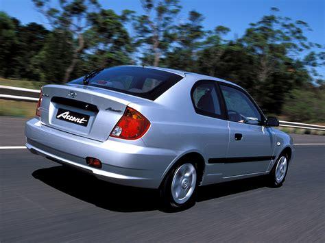3 Door Hyundai by Hyundai Accent 3 Door Au Spec 2003 06