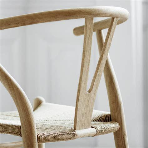 ch wishbone chair  hans  wegner  carl hansen son  interiors