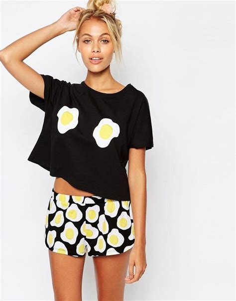 Blue Fried Eggs Longpants Pajamas 2444 best up the jam s images on pajamas