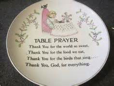 meal prayers on prayer meals and grace o malley