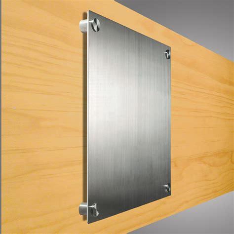 targhe porta targa da parete in metallo targhe da parete e fuori porta