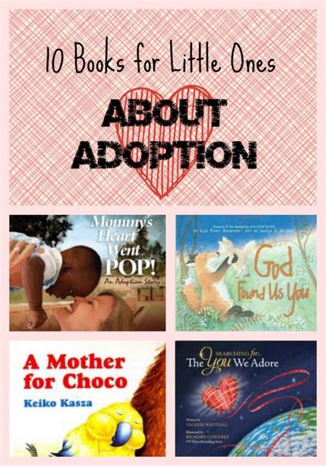 10 Children S Books About Adoption