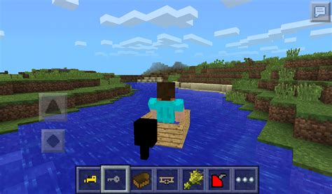 how to build a boat in minecraft pe how to make a motor boat in minecraft pe