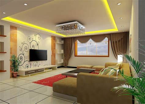 living room tv wall wallpaper  curtain design