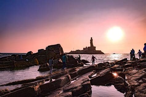 mesmerizing beaches  kanyakumari  amazing sunsets
