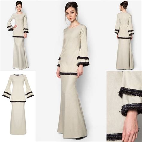 baju melayu terkini baju raya 2016 baju kurung peplum moden fesyen trend