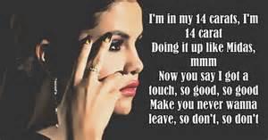 Selena gomez ft a ap rocky good for you lyrics zlesene com