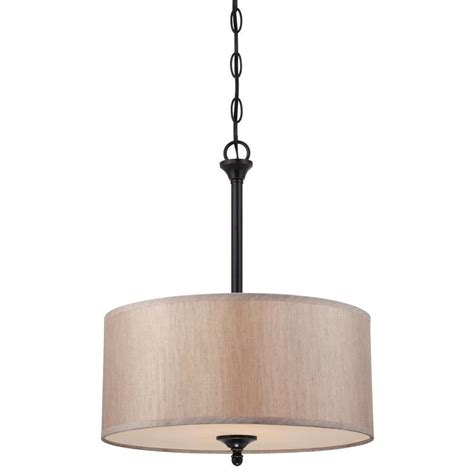 convertible pendant light westinghouse packard 2 light bronze convertible pendant semi flush mount 6341700 the