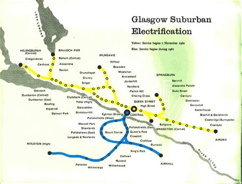 Caledonian Sleeper Route Map by Scotland And Scotrail Rail Maps