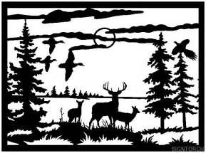 Bow Hunting Window Decals deer scene if i get a scroll saw pinterest