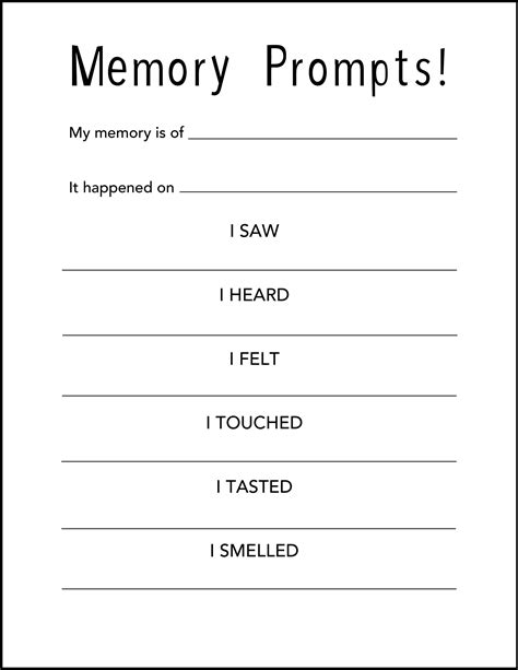 memory template family activity nivelli s war newvictory org