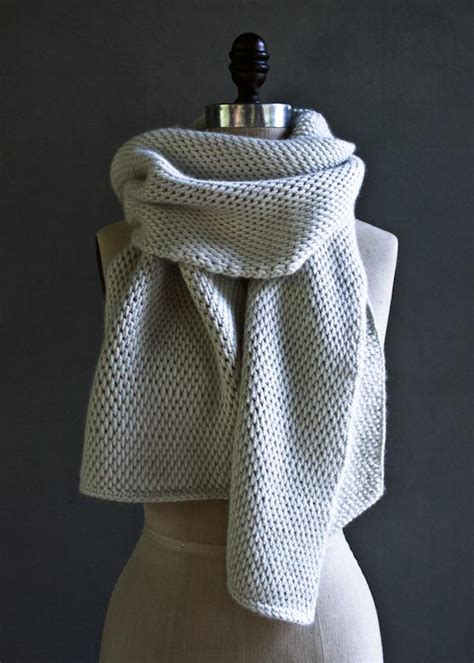 how to purl knit a scarf tunisian crochet scarf purl soho