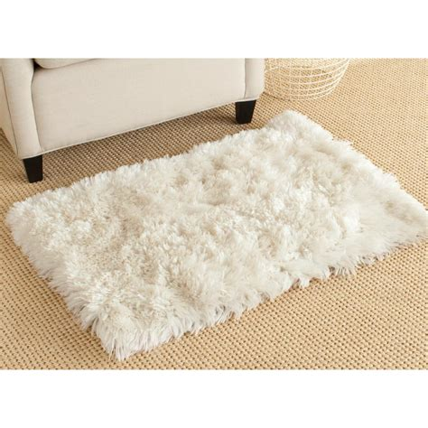 safavieh arctic shag ivory 2 ft 6 in x 4 ft area rug