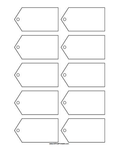 free tags templates printable printable template 2017 my printable template